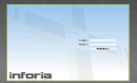 Strona inforia.net ? tylko panel logowania