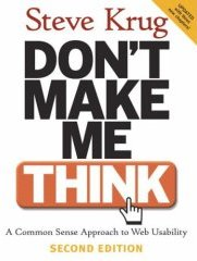 Okładka Don?t Make Me Think ? wersja oryginalna