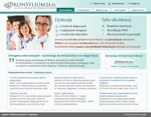 Strona główna serwisu Konsylium24.pl