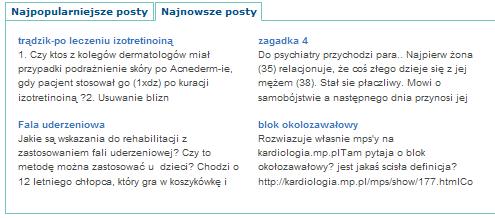 Kilka wybranych problemów na forum
