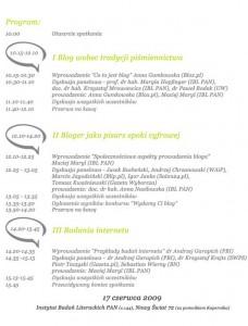 Program konferencji w formie pliku JPG