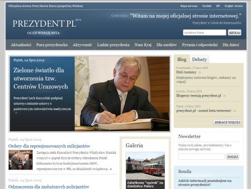 Strona główna prezydent.pl