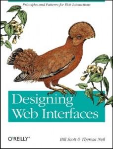 Okładka Designing Web Interfaces
