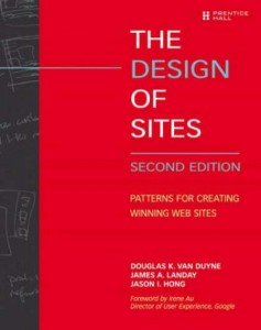 Okładka Design of Sites