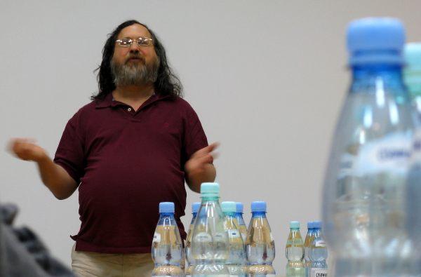 Richard Stallman na konferencji Wikimedia Polska