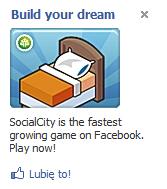 Przykładowa reklama z Facebooka.