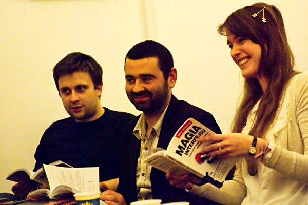 Uczestnicy spotkania UX Book Club