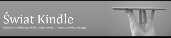 Świat Kindle - nagłówek