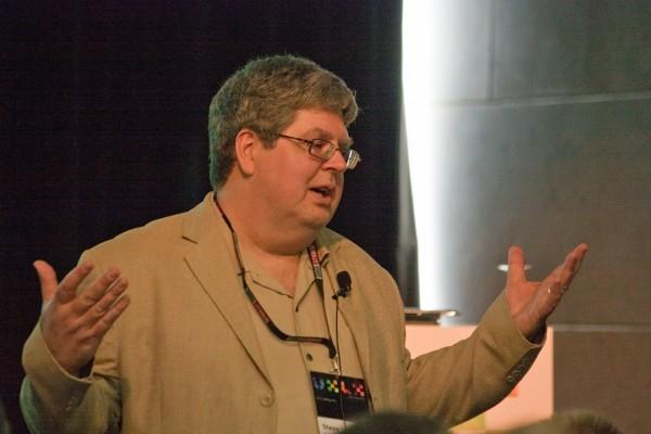 Steve Krug podczas UXLX w Lizbonie