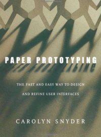 Okładka Paper Prototyping