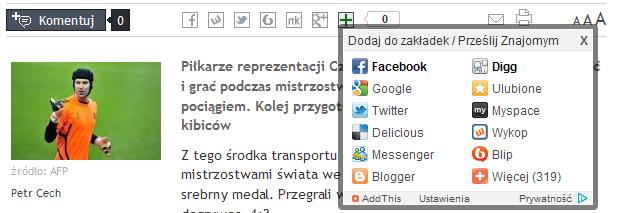 Narzędzia na stronie RP.pl
