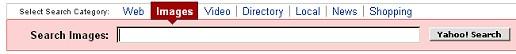 Zakładki w Yahoo - po przełączeniu